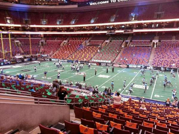 Wells Fargo Center, section: Club Box 3, row: 1, seat: 7