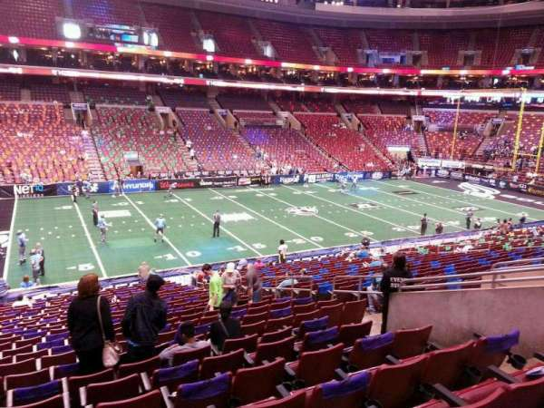 Wells Fargo Center, section: CB11, row: 1, seat: 12