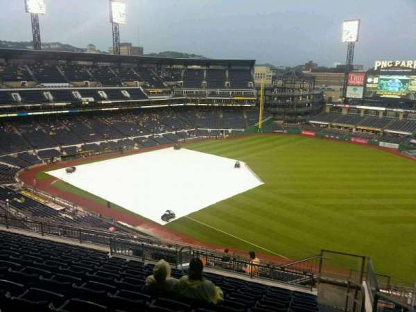 PNC Park, section: 302, row: s, seat: 1