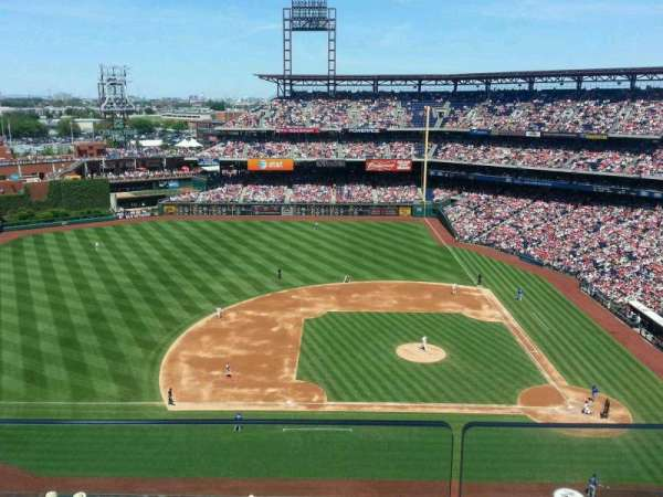Citizens Bank Park, section: 426, row: 2, seat: 10