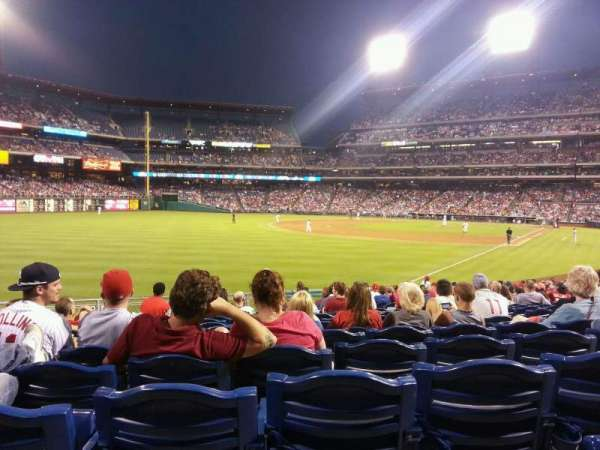 Citizens Bank Park, section: 139, row: 25, seat: 7