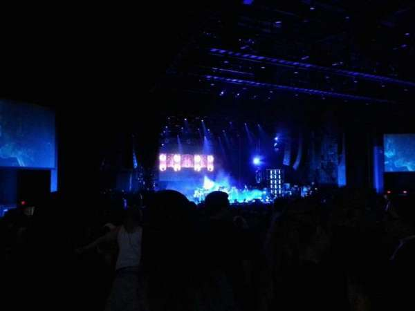 BB&T Pavilion, section: 203, row: f, seat: 16