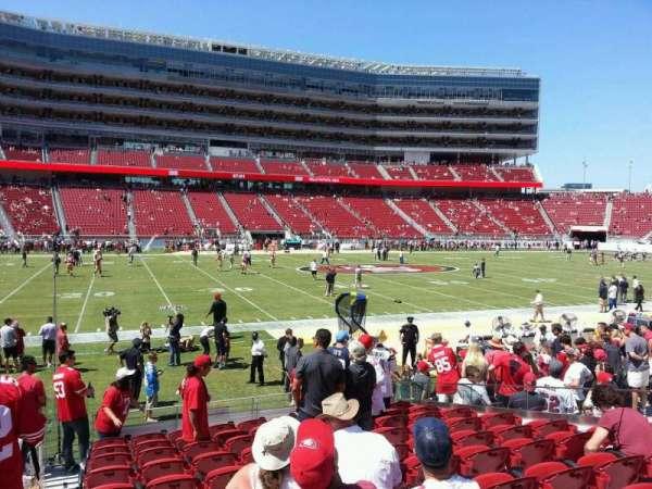 Levi's Stadium, section: 118, row: 11, seat: 16
