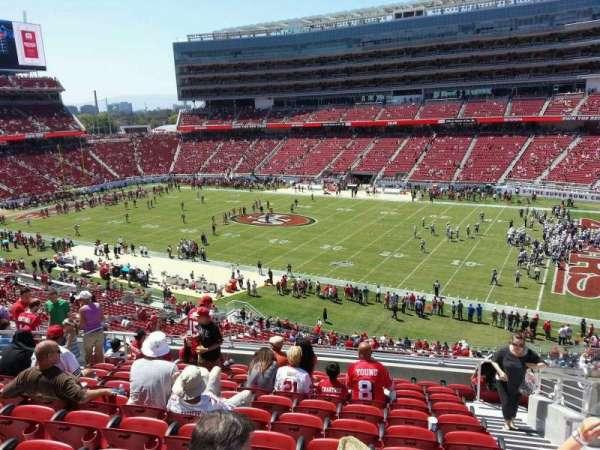 Levi's Stadium, section: 211, row: 11, seat: 5