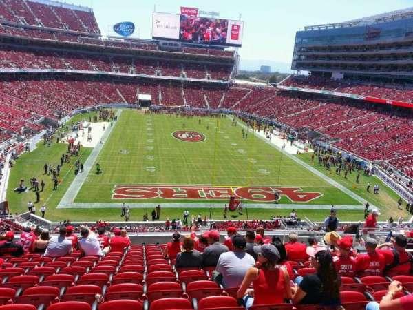 Levi's Stadium, section: 204, row: 14, seat: 13