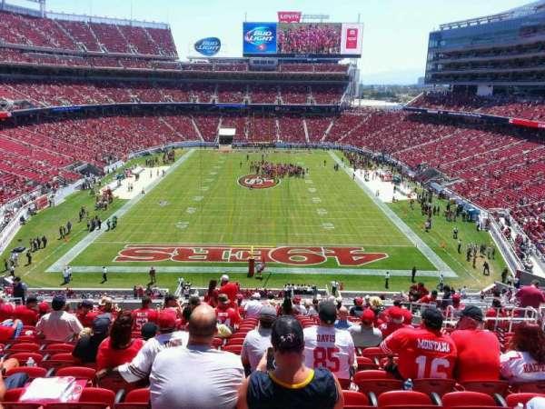 Levi's Stadium, section: 203, row: 19, seat: 11