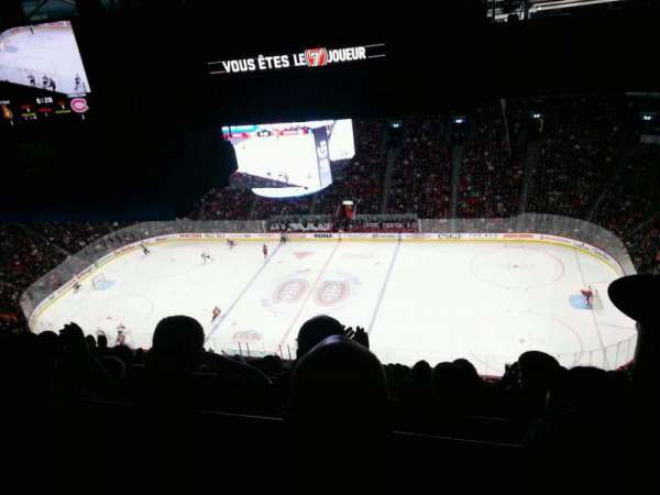 Centre Bell, section: 417, row: b, seat: 7