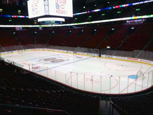 Centre Bell, section: 122, row: m, seat: 1