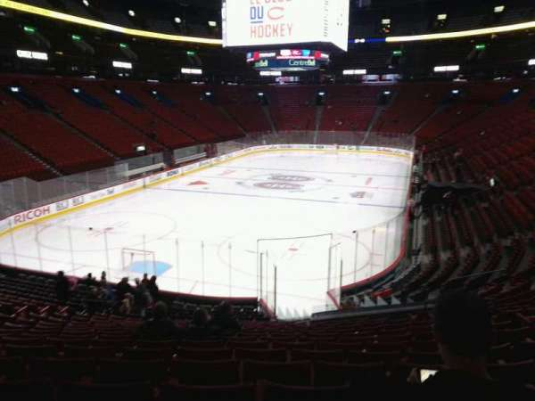 Centre Bell, section: 118, row: p, seat: 7