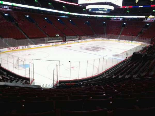 Centre Bell, section: 117, row: m, seat: 10