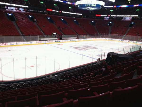 Centre Bell, section: 116, row: k, seat: 10