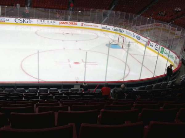 Centre Bell, section: 111, row: g, seat: 7