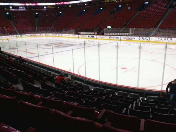Centre Bell, section: 110, row: d, seat: 4
