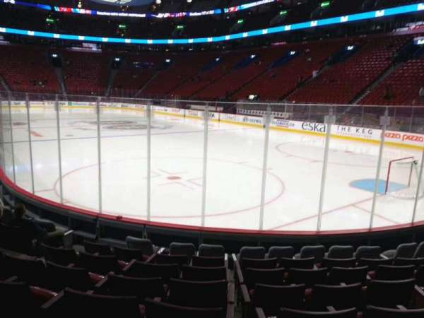 Centre Bell, section: 109, row: b, seat: 4