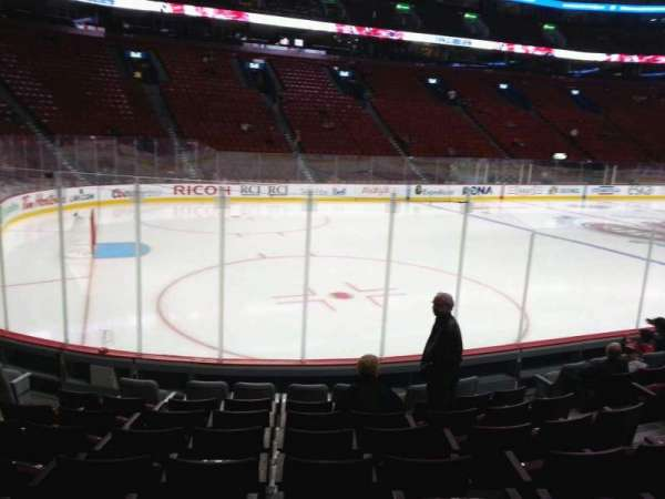 Centre Bell, section: 104, row: c, seat: 8