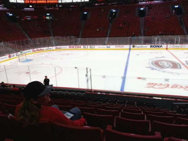 Centre Bell, section: 102, row: h, seat: 3