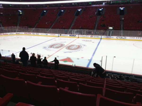 Centre Bell, section: 124, row: L, seat: 6