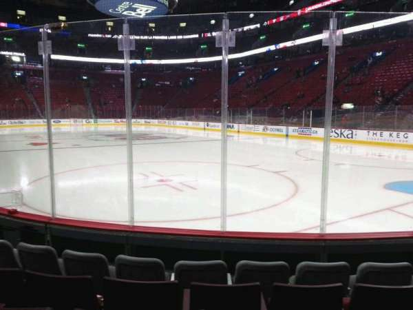 Centre Bell, section: 121, row: ee, seat: 1