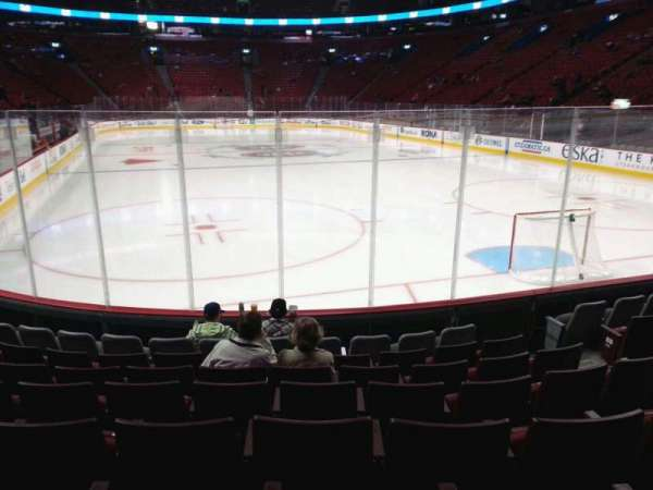 Centre Bell, section: 120, row: b, seat: 6