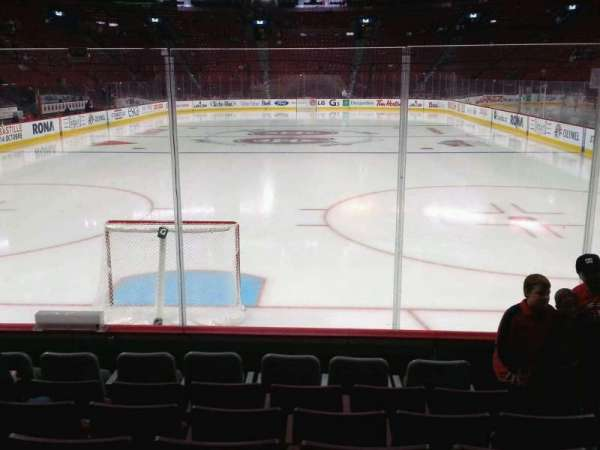 Centre Bell, section: 119, row: a, seat: 4