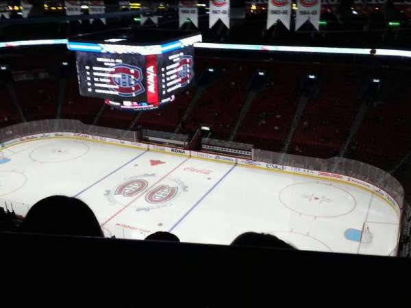 Centre Bell, section: 316, row: b, seat: 5