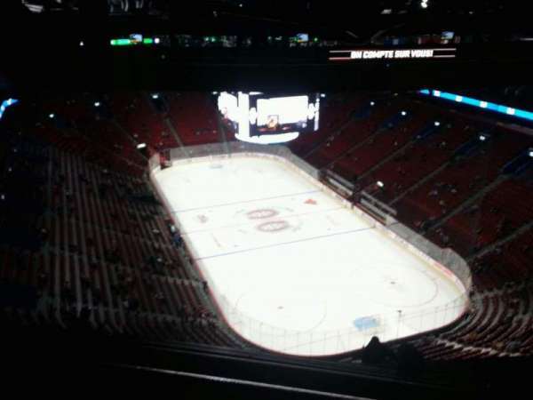 Centre Bell, section: 412, row: c, seat: 12