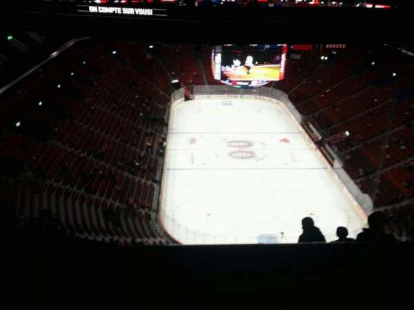 Centre Bell, section: 411, row: c, seat: 10