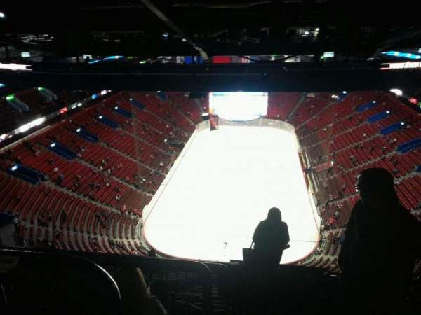 Centre Bell, section: 410, row: d, seat: 1