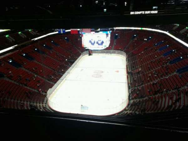 Centre Bell, section: 409, row: a, seat: 13