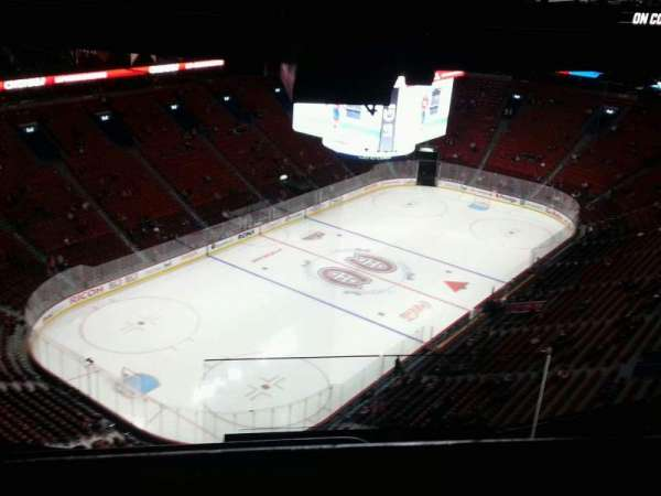 Centre Bell, section: 407, row: b, seat: 1