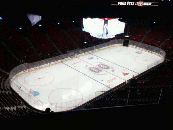 Centre Bell, section: 406, row: c, seat: 4