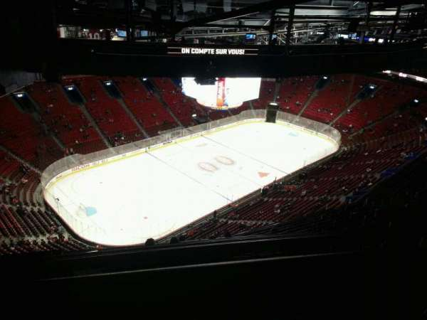 Centre Bell, section: 405, row: d, seat: 18