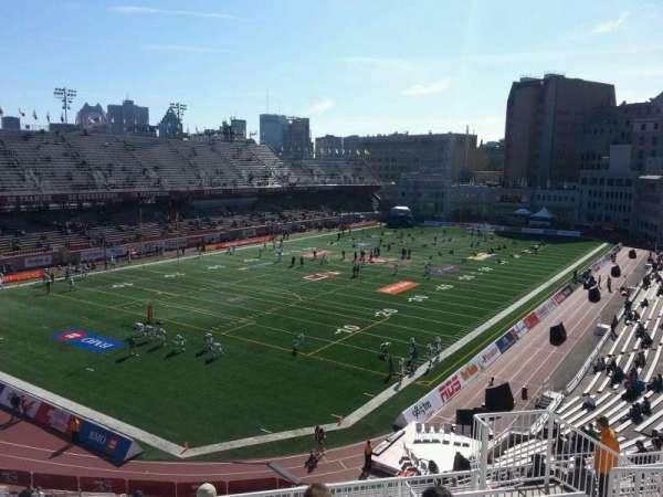 Percival Molson Memorial Stadium, section: n2, row: 8, seat: 8