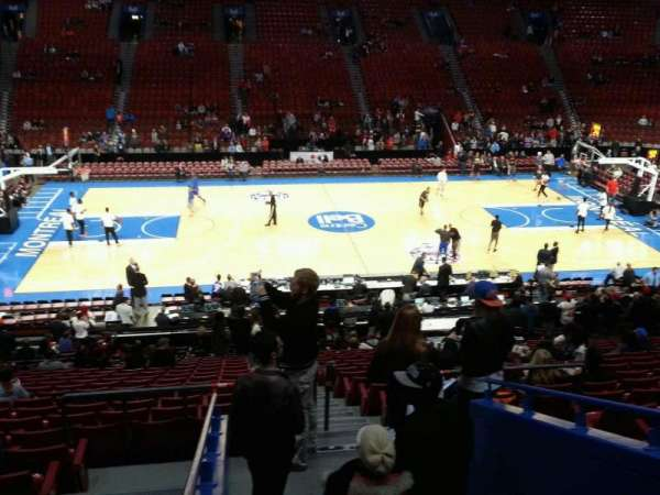 Centre Bell, section: 102, row: u, seat: 2