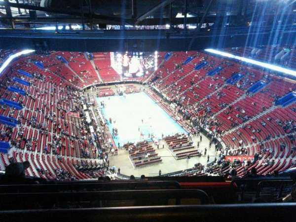 Centre Bell, section: 430, row: c, seat: 1