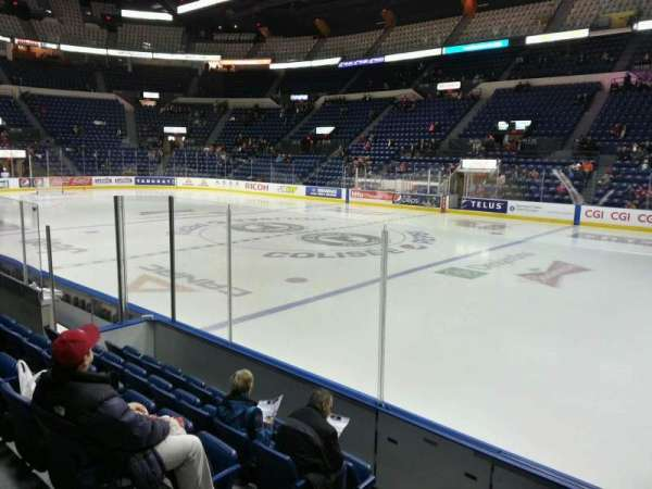 Colisée Pepsi, section: 116, row: f, seat: 16