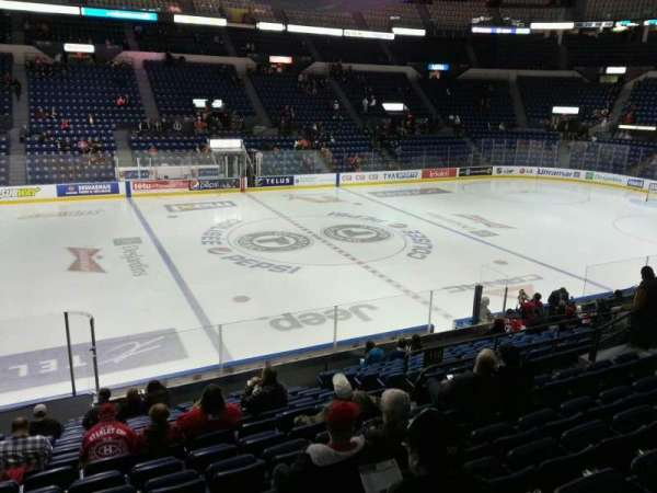 Colisée Pepsi, section: 110, row: p, seat: 13