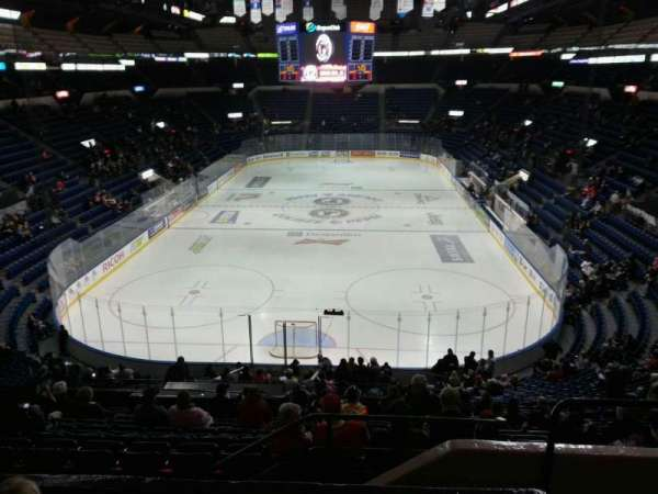 Colisée Pepsi, section: 201, row: d, seat: 2