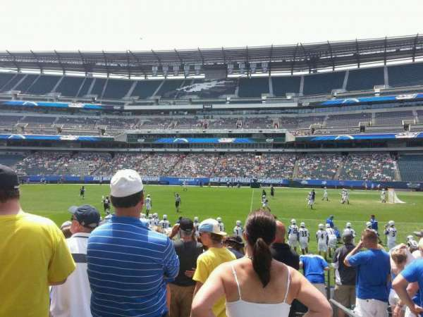 Lincoln Financial Field, section: 122, row: 9, seat: 1