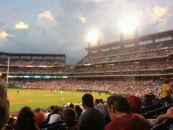 Citizens Bank Park, section: 133, row: 29, seat: 14