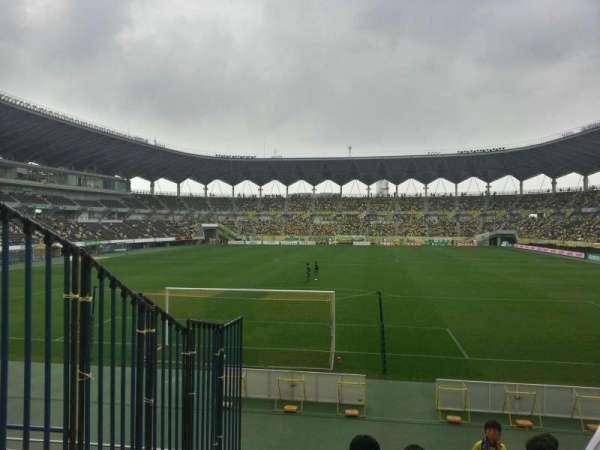 Fukuda Denshi Arena, row: 8, seat: 166
