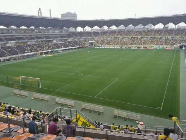 Fukuda Denshi Arena, row: 22, seat: 240