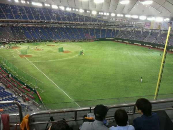 Tokyo Dome, section: Home, row: 3, seat: 462