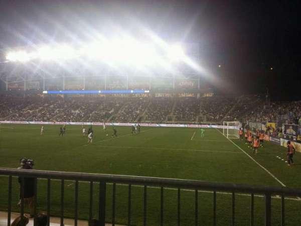 Talen Energy Stadium, section: 102, row: d