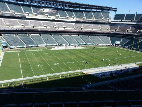 Lincoln Financial Field, section: c37, row: 11, seat: 12