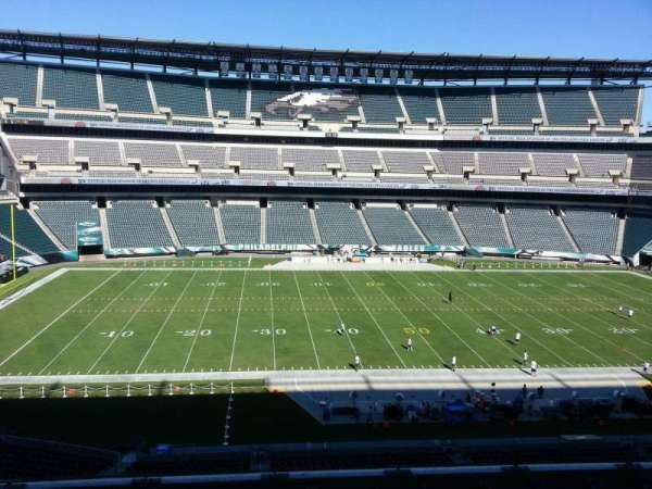 Lincoln Financial Field, section: c39, row: 11, seat: 10