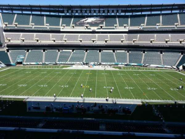 Lincoln Financial Field, section: c1, row: 9, seat: 10