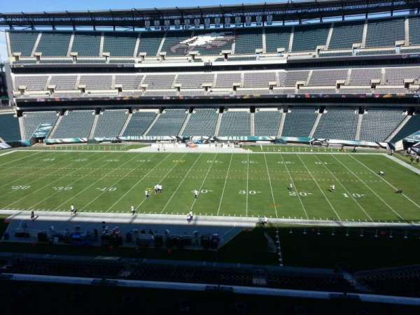 Lincoln Financial Field, section: c2, row: 9, seat: 10
