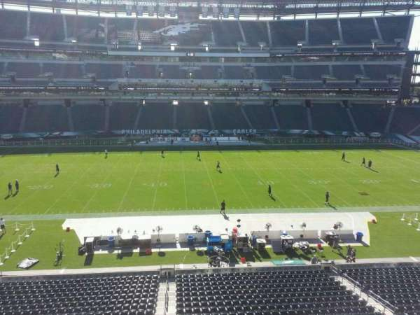 Lincoln Financial Field, section: c21, row: 2, seat: 12