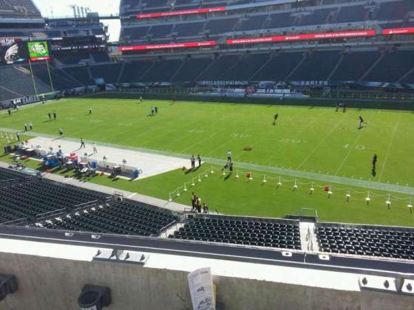 Lincoln Financial Field, section: c25, row: 2, seat: 12